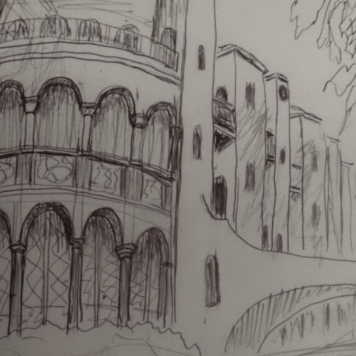 Mission Inn sketch