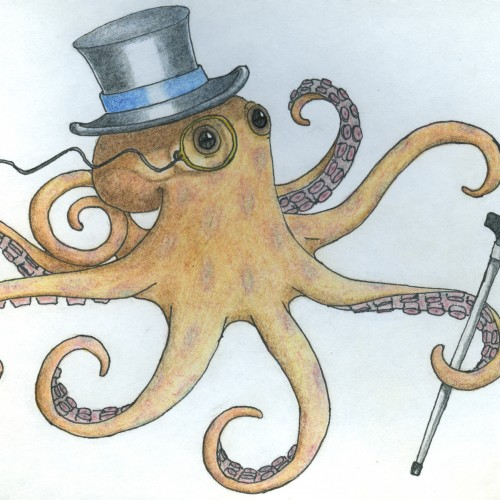Posh Octopus (requested by an 8 year old)