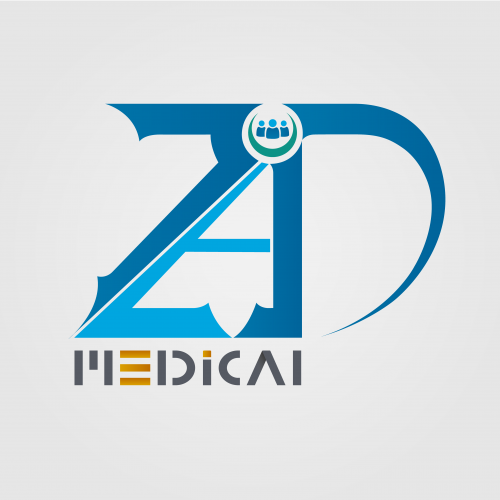 Logo for a medical supplies company