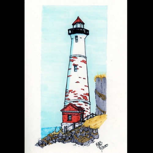 Crisp Pointe Lighthouse Study