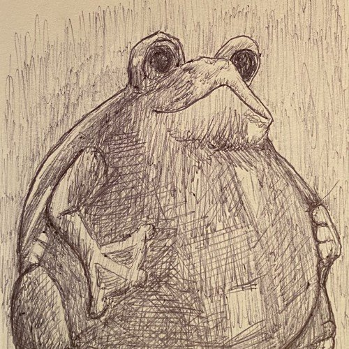 Frog....to be honest, im too lasy to be an artist.