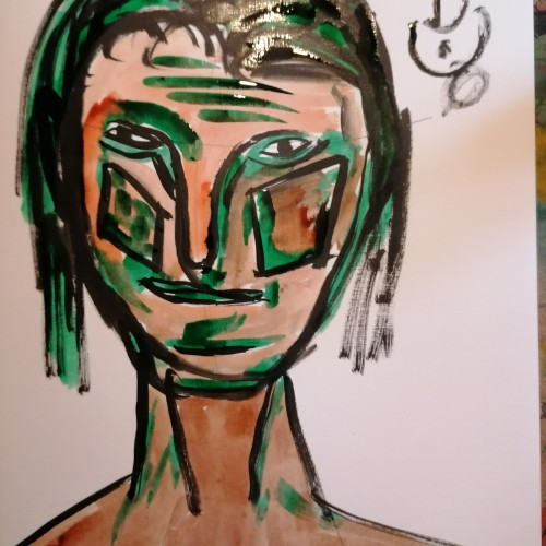 Drawing from the imaginaation #4/The Face
