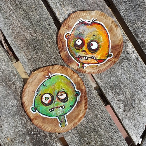 Mixed Media Zombie Teabags
