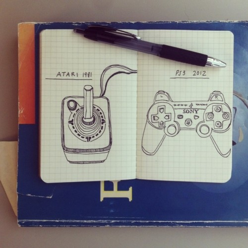 Drawn Evolution: Game Controllers